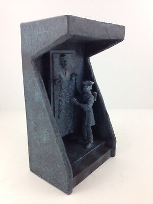 Applause Star Wars Han Solo Carbonite Leia Boussh Resin Statue incomplete HEAVY