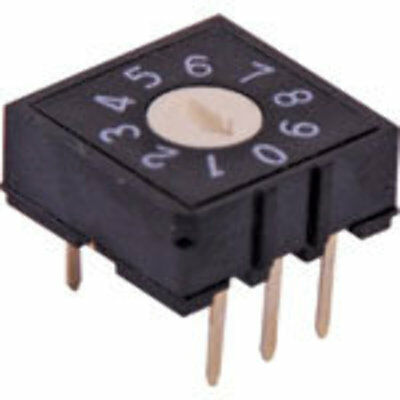 5 Pin BCD PCB Mount Rotary Switch