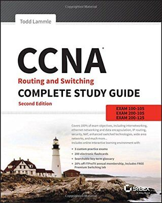 CCNA Routing and Switching Complete Study Guide Exam by Todd Lammle DlGlTAL BOOK