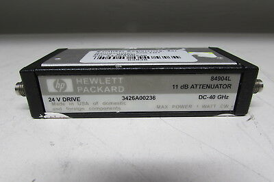 Agilent 84904L Programmable Step Attenuator, DC to 40 GHz, 0 to 11 dB, db-1
