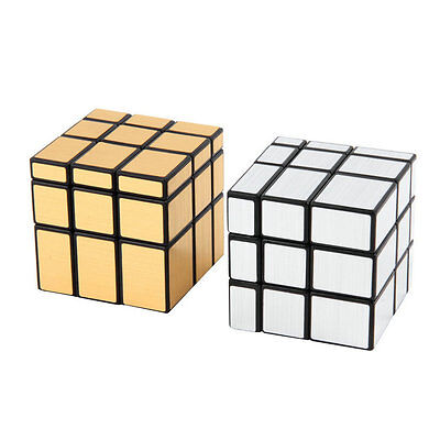 New 3 x 3 x 3 Magic Cube Puzzle Ruler Mirror Intelligence Game Kids Toy SD