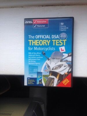 The Official Dsa Theory Test For Motorcyclist Pc Mac Dvd Rom