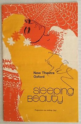JIMMY EDWARDS Autographed Programme. New Theatre. Oxford 1970.