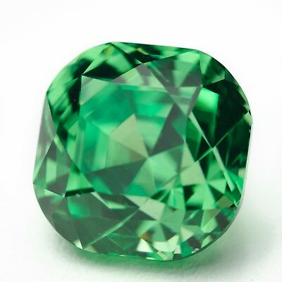 15.4ct Tsavorite Lab Created Green Garnet (YAG) Loose Stone
