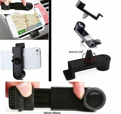 Universal Portable Cell Phone GPS In Car Air Vent Mount Holder Cradle Bracket DS