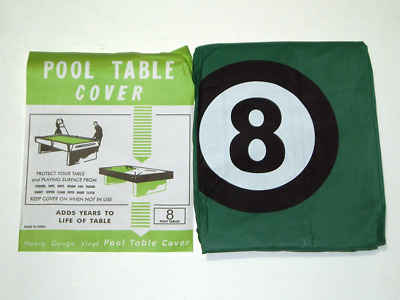 Pool Table Cover To Fit 8Ft Table With 8 Ball Design**