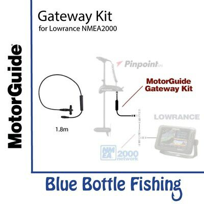 NEW MotorGuide Xi5 Gateway Kit for Lowrance from Blue Bottle Fishing