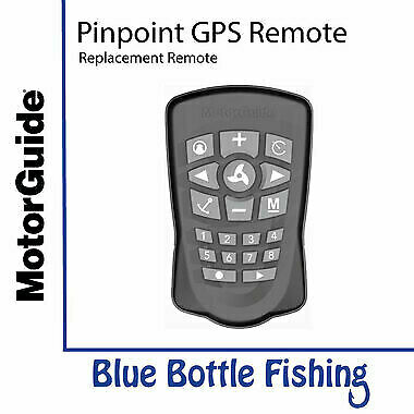 NEW MotorGuide Pinpoint GPS Replacement Remote from Blue Bottle Fishing