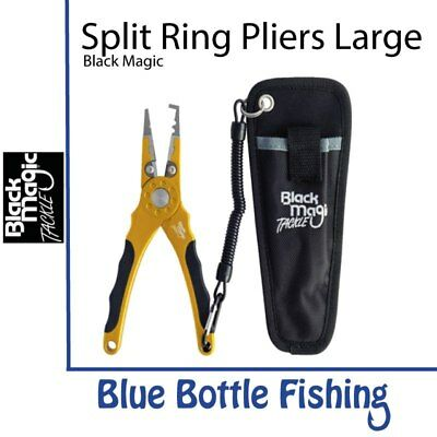 NEW Black Magic Large Split Ring Pliers from Blue Bottle Marine