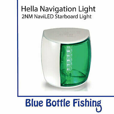 Hella 2 NM NaviLED PRO Starboard Navigation Lamp- White