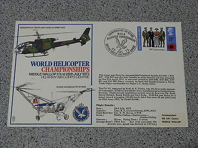 Army Air Corps FDC 2ND WORLD HELICOPTER CHAMPIONSHIPS