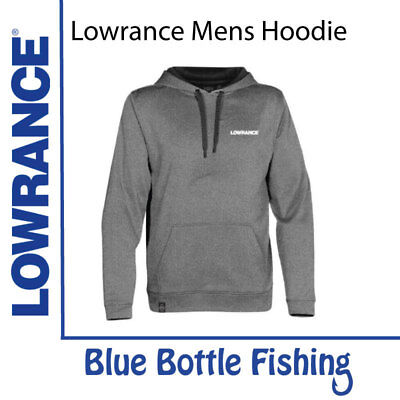 NEW Lowrance Mens Premium Stormtech Hoodie from Blue Bottle Fishing