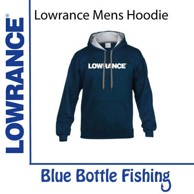 NEW Lowrance Mens Hoodie from Blue Bottle Fishing