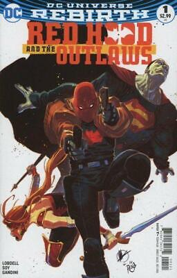 Red Hood and the Outlaws #1 (Vol 2) DC Rebirth Variant Cover B