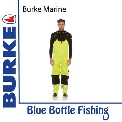 NEW Burke Hi-Vis Safety Bib & Brace Trousers from Blue Bottle Marine