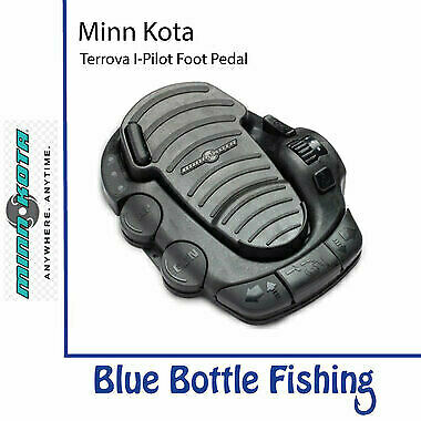 NEW Minn Kota Terrova Advanced I-Pilot Foot Pedal from Blue Bottle Fishing