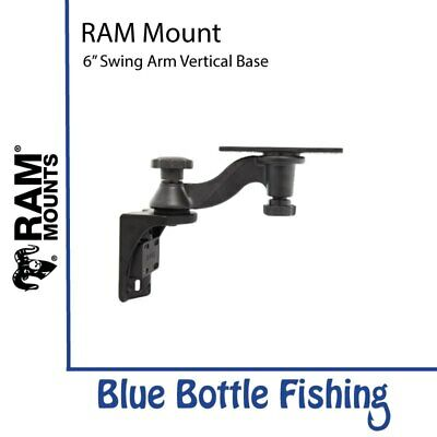 "Vertical RAM Mount 6"" Swing Arm Vertical Base For Lowrance HDS 7,8,9, Elite 9..."