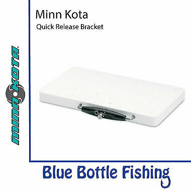 NEW Minn Kota Quick Release Bracket White from Blue Bottle Fishing