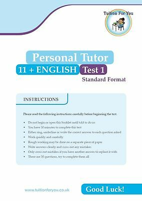 10x ENGLISH 11+ ELEVEN PLUS TEST/EXAM PAPERS IDEAL CEM / GL ASSESSMENT / BOND