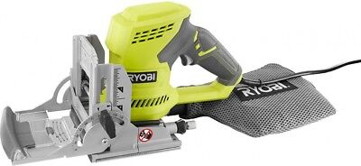Ryobi AC Biscuit Joiner Kit Slots Angles Carbide Tipped Blade Ergonomic Handle