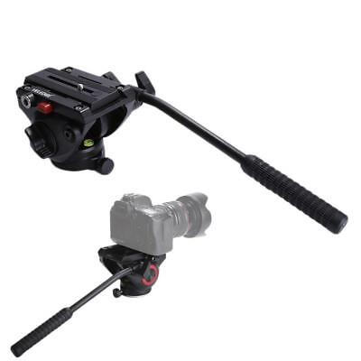 360° Handle Hydraulic Damping Ball Head with Quick Release Plate for Tripod
