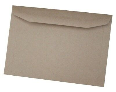 C5 Manilla Envelopes, 162x229mm, Gummed, 80gsm, No Window, Plain - FREE P&P