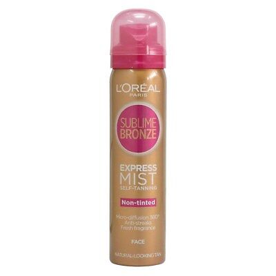 L'Oreal Sublime Bronze Express Pro Self Tanning Dry Mist for Face