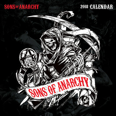 Sons of Anarchy - Official 2018 Calendar - C18016