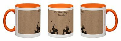 Pet Shop Boys - Literally [2016] Orange Coffee Mug  *one-Off Exclusive~Hurry!!