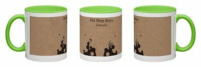 Pet Shop Boys - Literally [2016] Lime Green Coffee Mug  *one-Off Exclusive!*