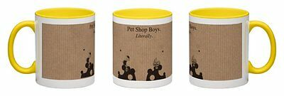 Pet Shop Boys - Literally [2016] Yellow Coffee Mug  *one-Off Exclusive!*