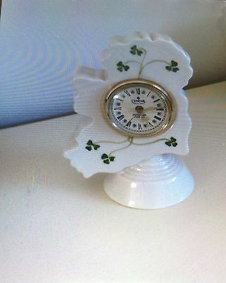 Beleek - Beautiful Donegal China clock, immaculate. Make a lovely Xmas present!