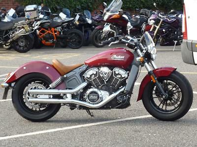 Indian Scout 1133  2015 Only 2678 Miles