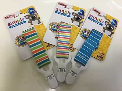 Nuby Soother Saver Dummy Clip Strap