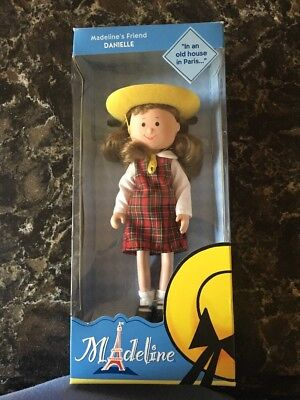 """NEW IN BOX Madeline's Friend Danielle 8"""" Poseable Doll Retired Learning Curve"""