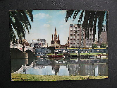 Melbourne View Yarra River Victoria Australia Central Aircraft Co Sign