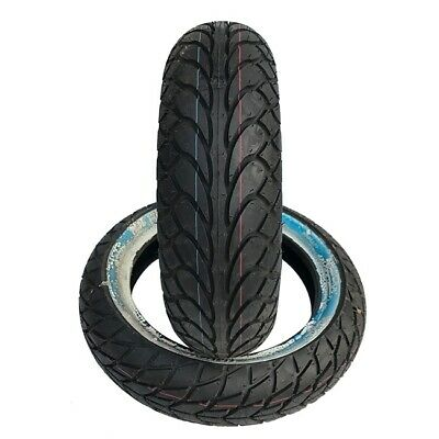 120/70-10 MC22 Motorcycle/Scooter Tubeless White Wall Tyre/EACH SAVA