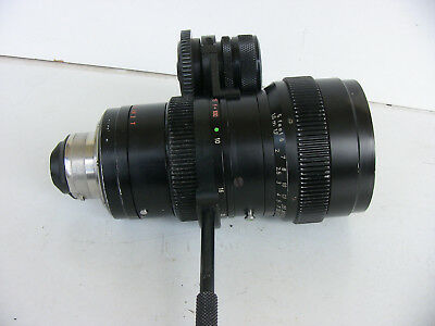 Zeiss 1,8 / 10-100 mm zoom lens Arri Bajonett-Mount  Blackmagic Pocket Ikonoskop