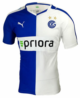 Puma Mens Grasshopper Club Zürich Football Soccer Home Jersey Shirt 2015 2016