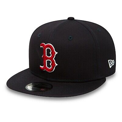 New Era Mens 9Fifty Baseball Cap.boston Red Sox Navy Flat Peak Snapback Hat 1956