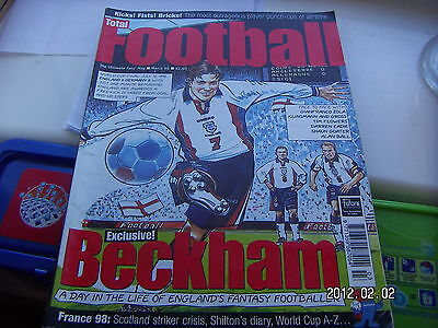 Total Football Magazine  March 1998