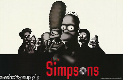 Lot Of 2 Posters: Tv : Simpsons Collage   -   Free Shipping !  #0659   Lc5 E