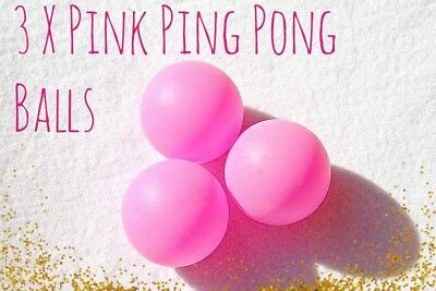 Champagne Pink Ping Pong Drinking Game Prosecco Hen Party Bridal Shower Gifts