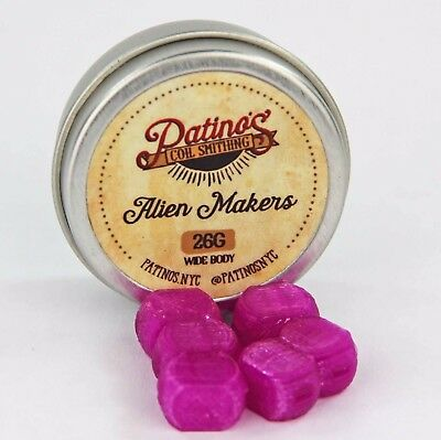 26AWG Wide Body Alien Maker - Plasma Purple by Patino's Coil Smithing NYC