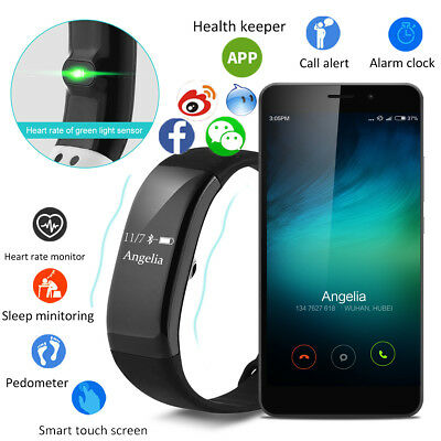 Smart watch Bracelet Bluetooth 4.0 Heart Rate orologio da polso per IOS Android