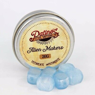 26AWG Alien Maker - Binary Blue by Patino's Coil Smithing NYC