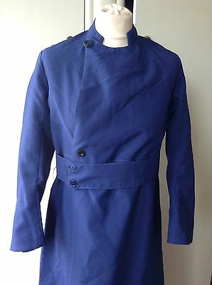 vintage ecclesiastical church Blue robe Small