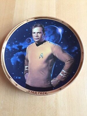 The Hamilton Collection: Star Trek 25th Anniversary Commemorative Plate 'Kirk'