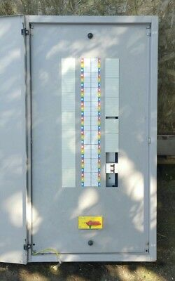 Distribution Board 18Way 3 Phase With 125A Incomer  Fuse Board