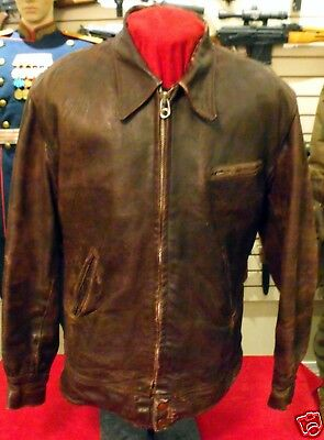 AIR FORCE PILOT'S LEATHER JACKET, CIRCA 1950's
